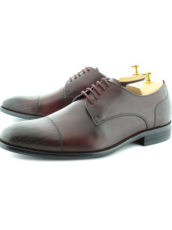 Paolo Vandini Filip Bordeaux Shoes