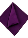 Monti Purple Silk Pocket Square