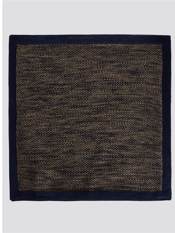 Gibson Knitted Pocket Square