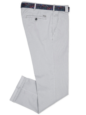Meyer Roma Light Grey Chinos