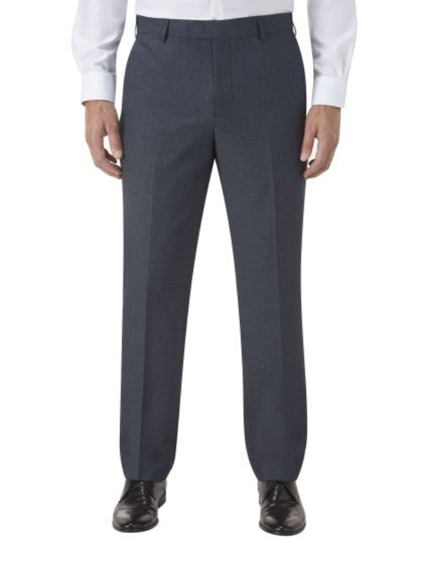 Skopes Harcourt Blue Slim Fit Trousers