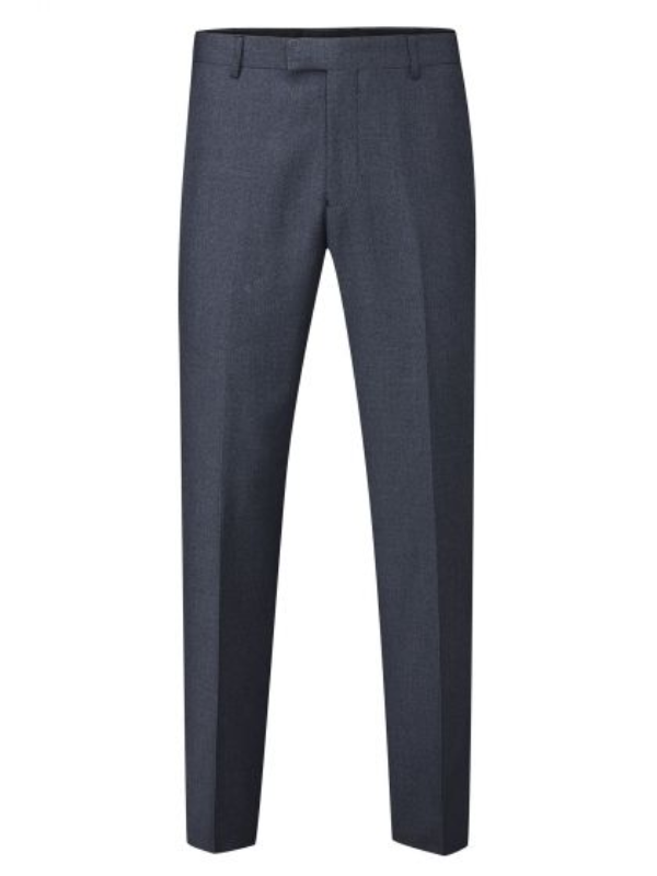 Skopes Harcourt Blue Tailored Fit Trousers