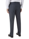 Skopes Harcourt Blue Tapered Fit Trousers