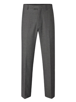 Skopes Harcourt Grey Slim Fit Trousers