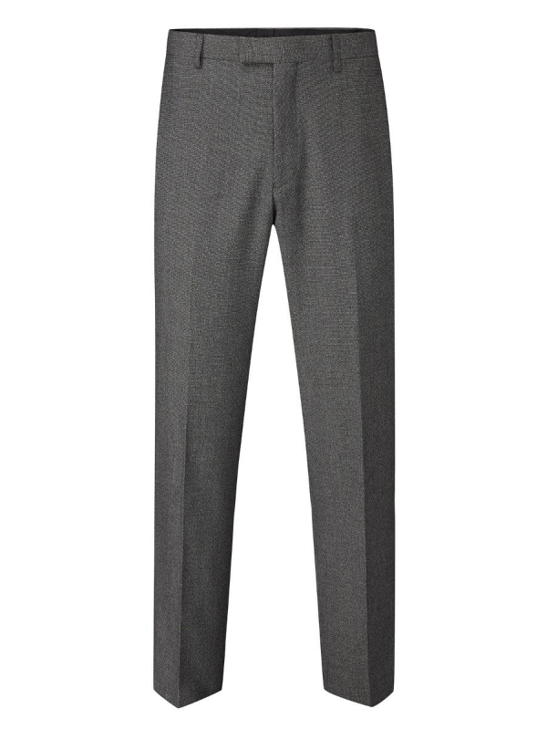 Skopes Harcourt Grey Tapered Fit Trousers