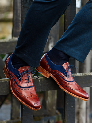 Barker McClean Rosewood Leather Shoes