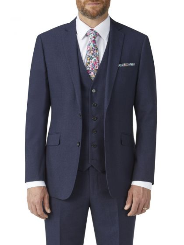 Skopes Harcourt Navy Slim Fit Jacket