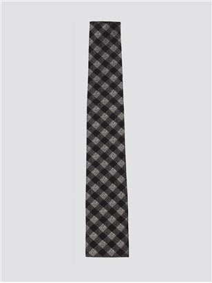 Gibson London Navy Gingham Tie