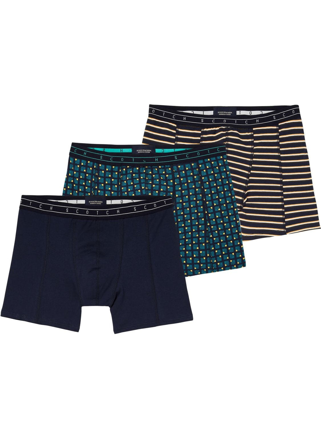 Scotch & Soda 3 Pack Boxer Shorts