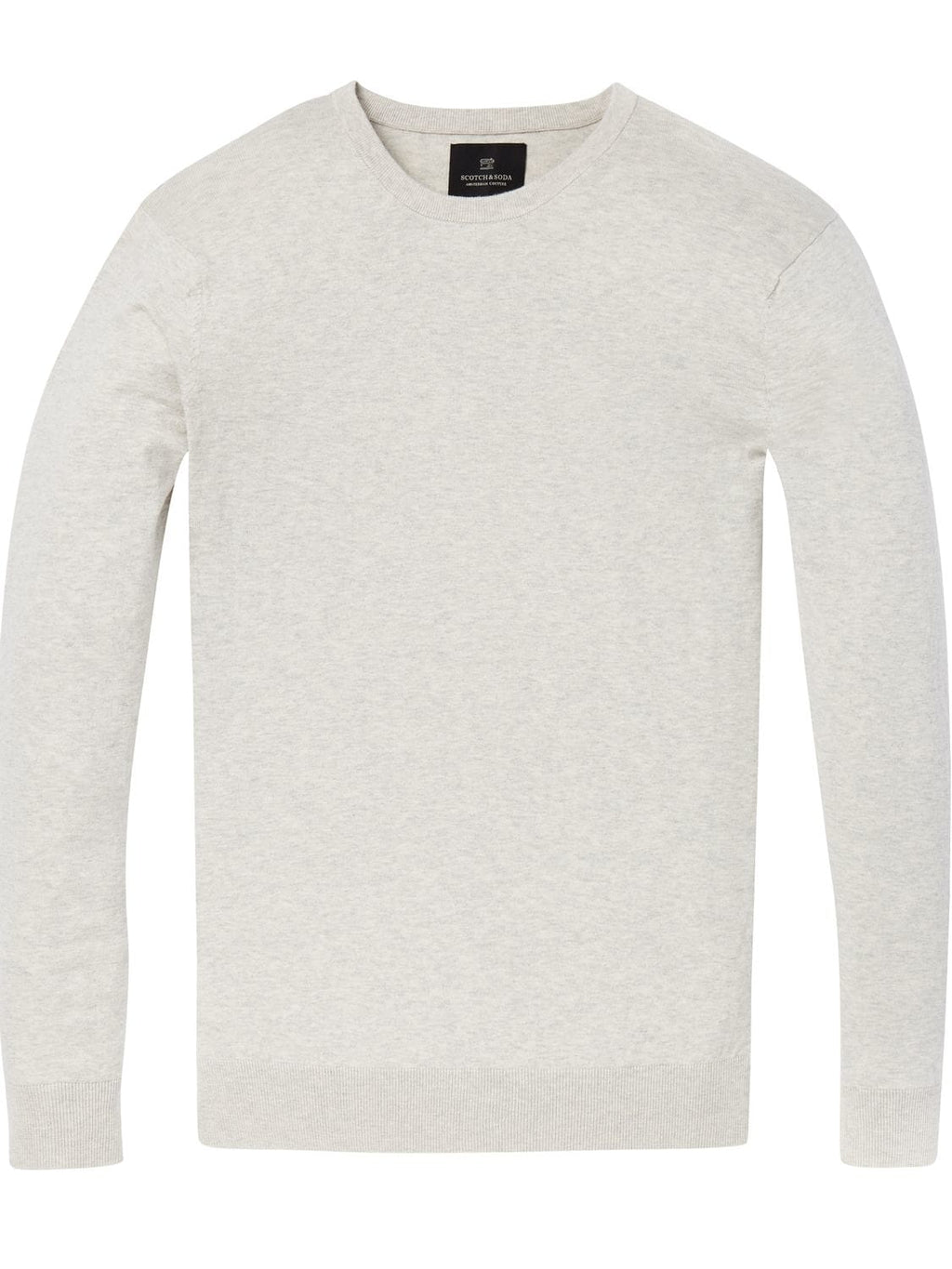 Scotch & Soda Bone Melange Crewneck Jumper