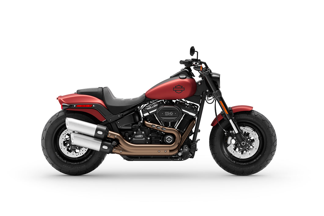 2019  HARLEY- DAVIDSON FXFBS  SOFTAIL  FATBOB  WITH MILWAUKEE- EIGHT 114 MOTOR