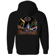 NYC Times Square Zip-up Hoodie