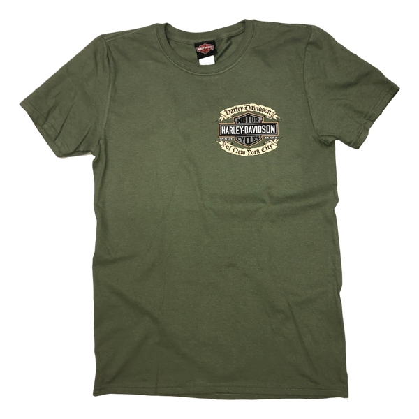 NYC Exclusive Affliction Green Tee