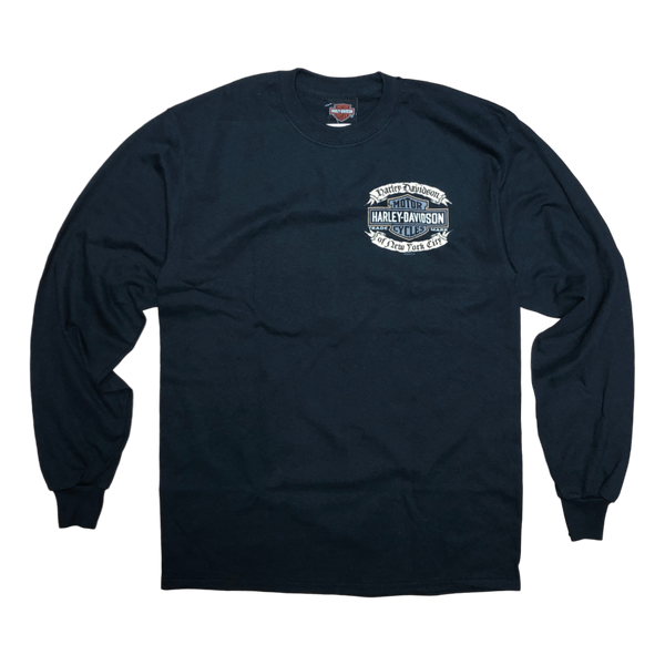 NYC Exclusive Affliction Black Long Sleeve Shirt