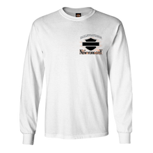 NYC Times Square White Long Sleeve Tee