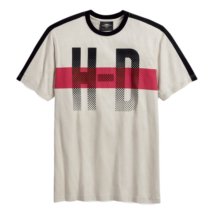 Men's H-D Chest Stripe Tee