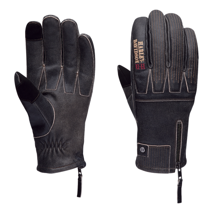 Harley-Davidson Genuine Men's Exhort Leather Gloves