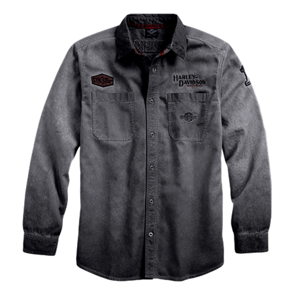 H-D IRON BLOCK L/S Shirt