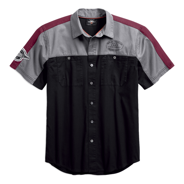 Men's Performance Vented Winged Logo Shirt