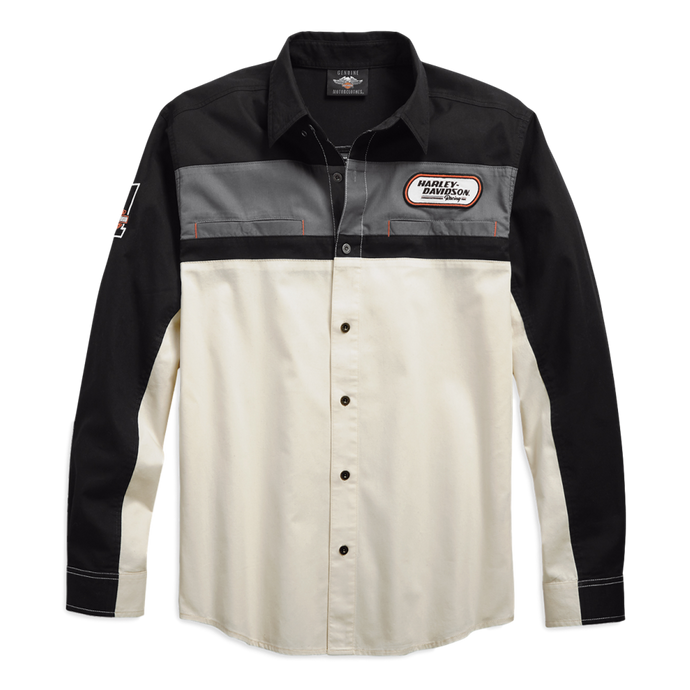 Men's H-D Racing Long Sleeve Shirt
