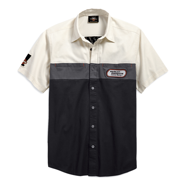 Men's H-D Racing Colorblock Shirt