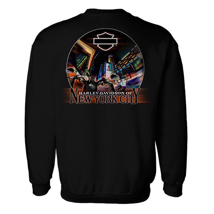NYC Times Square Crew Neck Sweatshirt