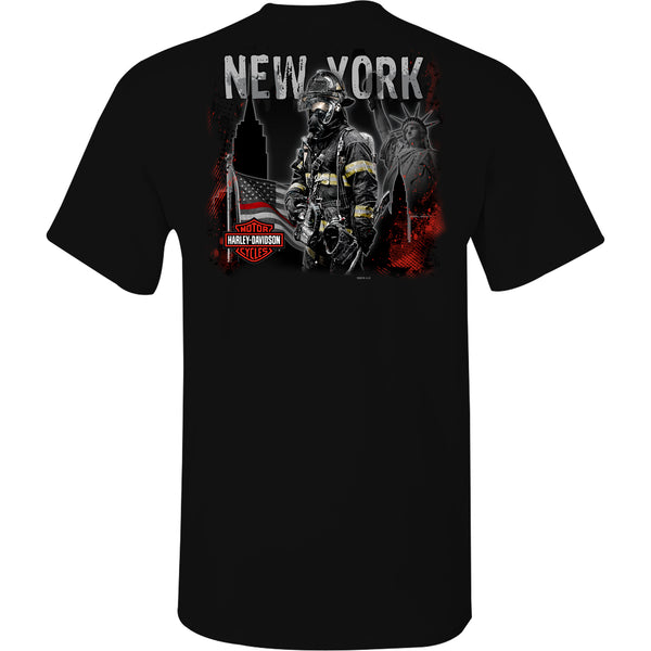 NYC Exclusive Black Firefighter T-shirt