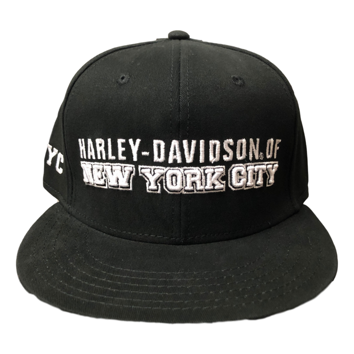front-harley-davidson-nyc-exclusive-fitted-hat-black
