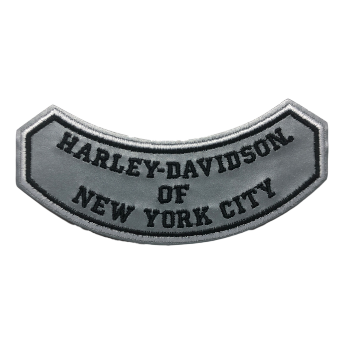 Harley-Davidson NYC Reflective Rocker Patch