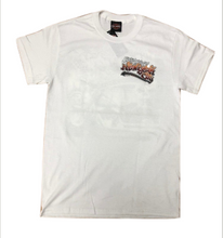 NYC Exclusive White Graffiti Short Sleeve Shirt