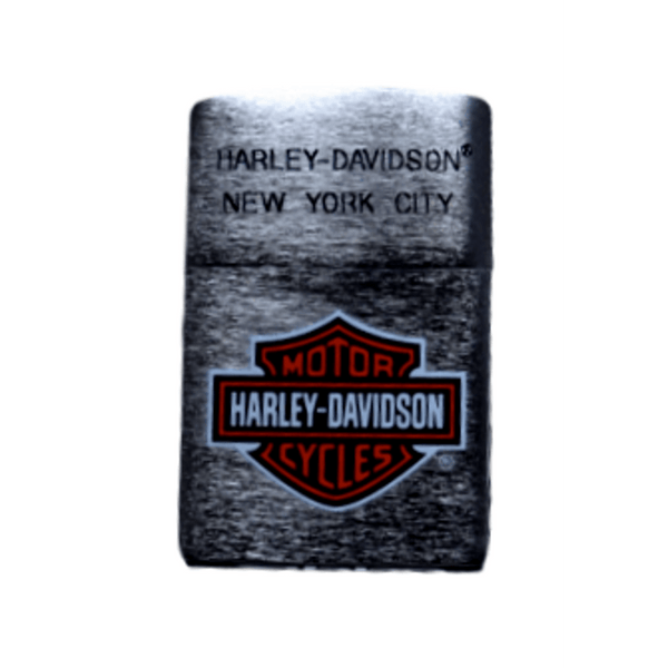 Harley-Davidson NYC Engraved Full Color Bar & Shield Zippo Lighter