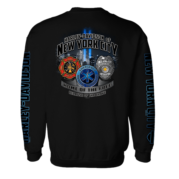 NYC First Responder's Crew Neck Sweatshirt