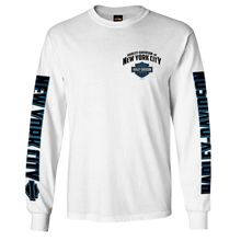 NYC First Responder White Long Sleeve Tee