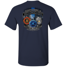 NYC First Responder Navy Tee