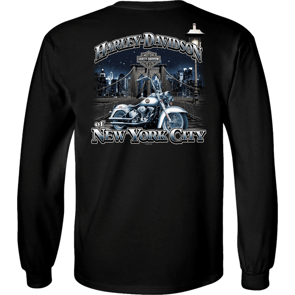 NYC Exclusive BROOKLYN BRIDGE Long Sleeve Shirt