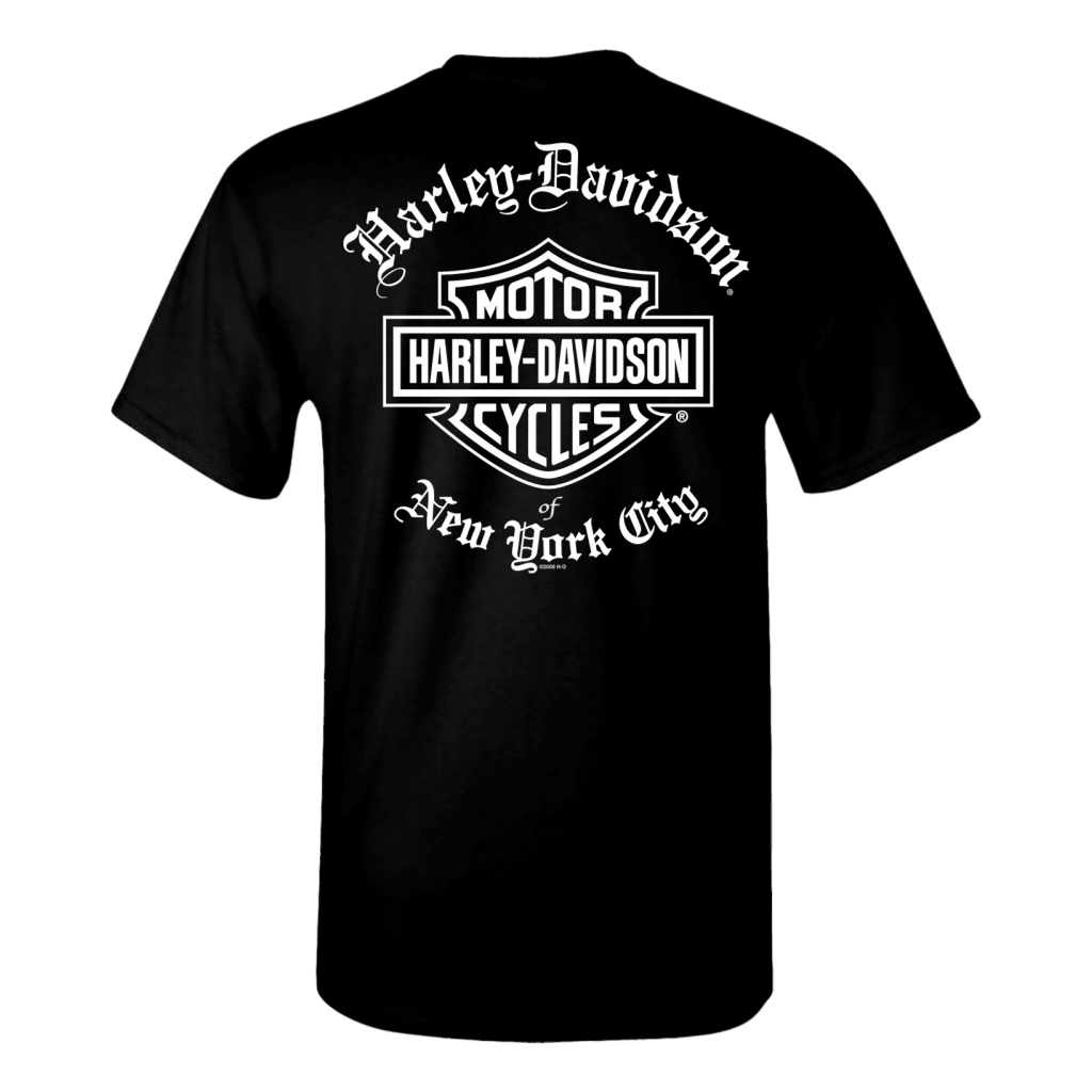 NYC Exclusive OLD ENGLISH BLACK Short Sleeve TEE