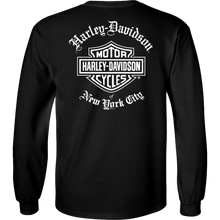 NYC Exclusive BLACK OLD ENGLISH Long Sleeve Shirt