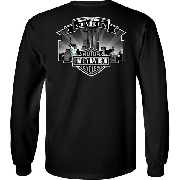 NYC Exclusive Skyline Long Sleeve Shirt