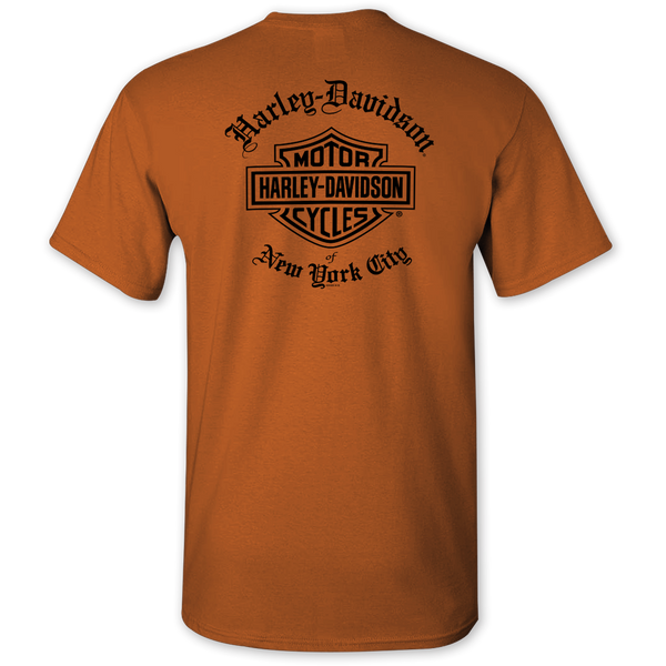 orange-back-Harley-Davidson-NYC-Exclusive-Old-English-Hi-Vis-Tee