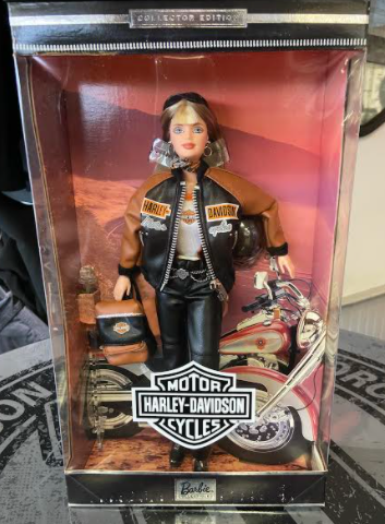 HARLEY-DAVIDSON COLLECTOR EDITION BARBIE DOLL