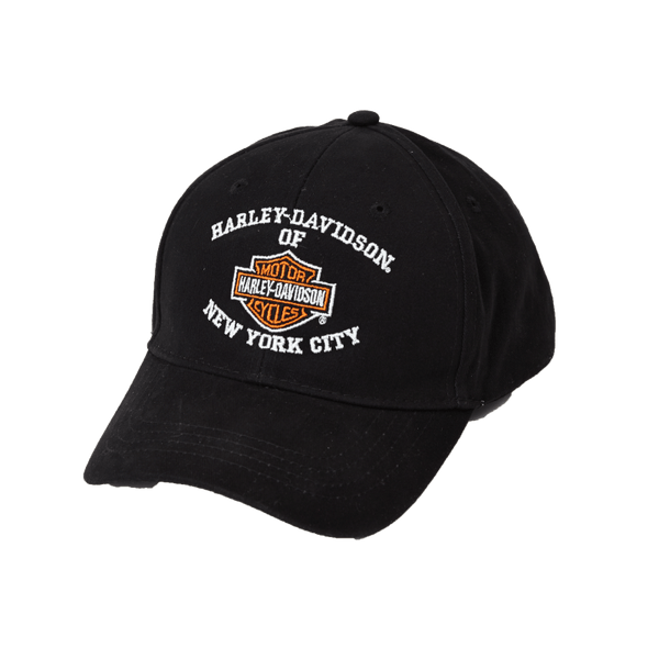 NYC Bar & Shield Cap- Harley Davidson of New York City