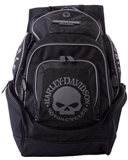 Harley-Davidson Genuine Willie G Skull Backpack