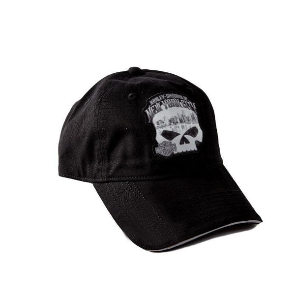 H-D OF NYC SKULL SKY CAP