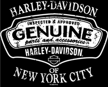 Men's Genuine Quality Pocket Tee w/H-D NYC Graphic