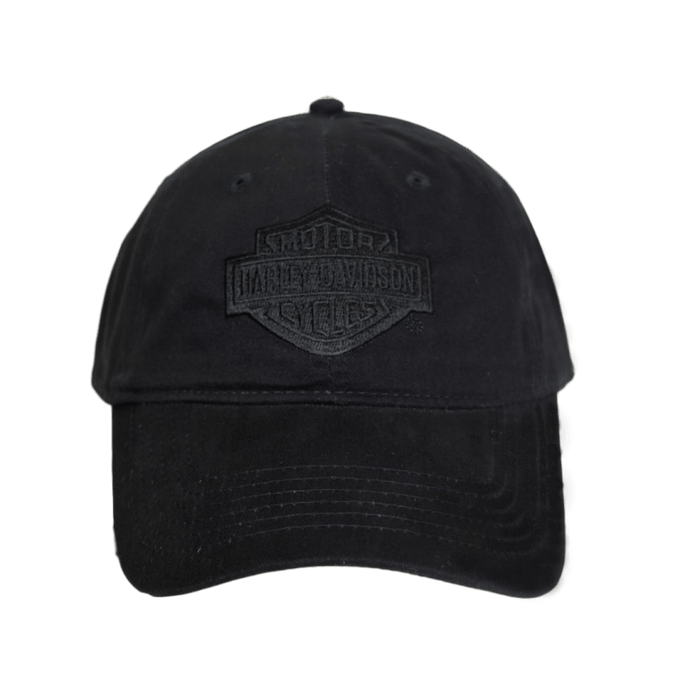 NYC DOUBLE BLACK TONAL CAP