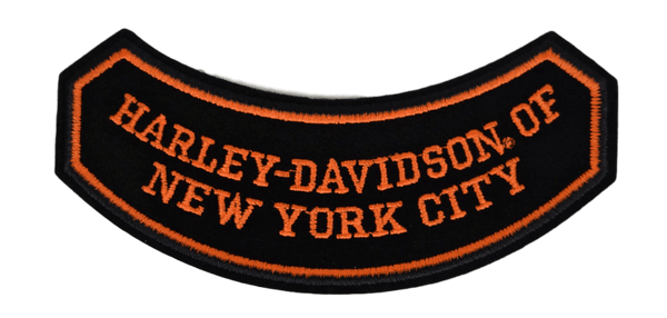 Harley-Davidson NYC Rocker Patch