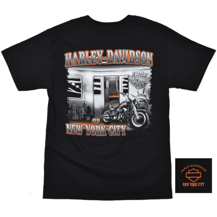 H-D of NYC Bar & Shield Subway Tee