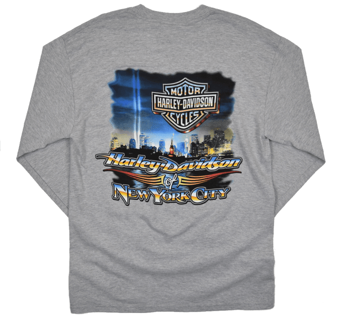 back-harley-davidson-nyc-beams-of-light-grey-long-sleeve-tee