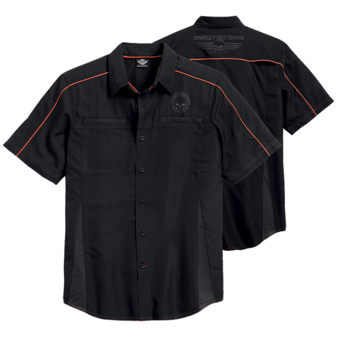 H-D Vented Performance Skull Shirt
