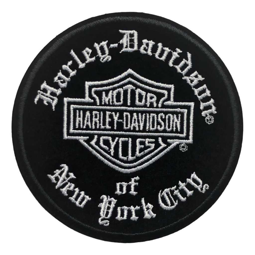 Harley-Davidson NYC Old English Patch